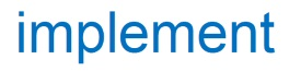 Logo for Implement Consulting